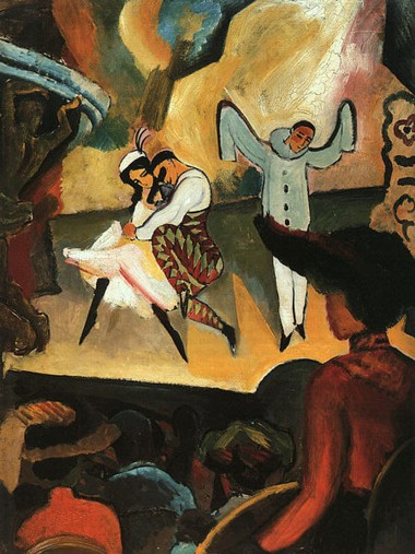 russisches-ballett-august-macke