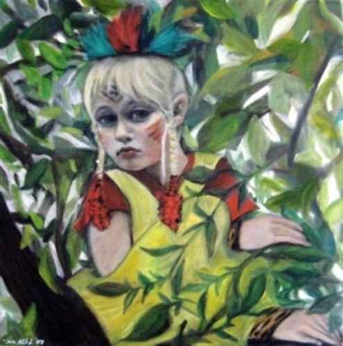 indianerwoche-kunst-meissen-portrait-malerei-iris-hilpert